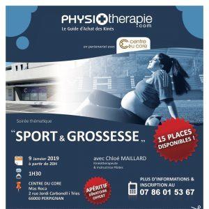 Soirée Centre du Core: Sport et Grossesse.